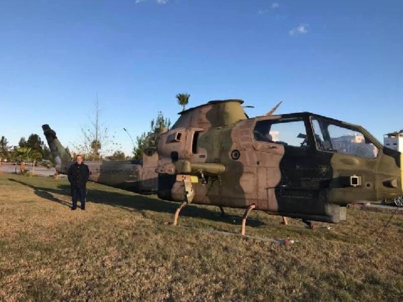 İSTE'ye kobra helikopter hibe edildi