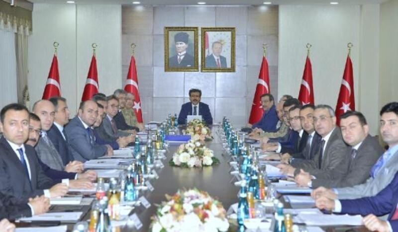 Diyarbakır'da seçim güvenliği toplantısı