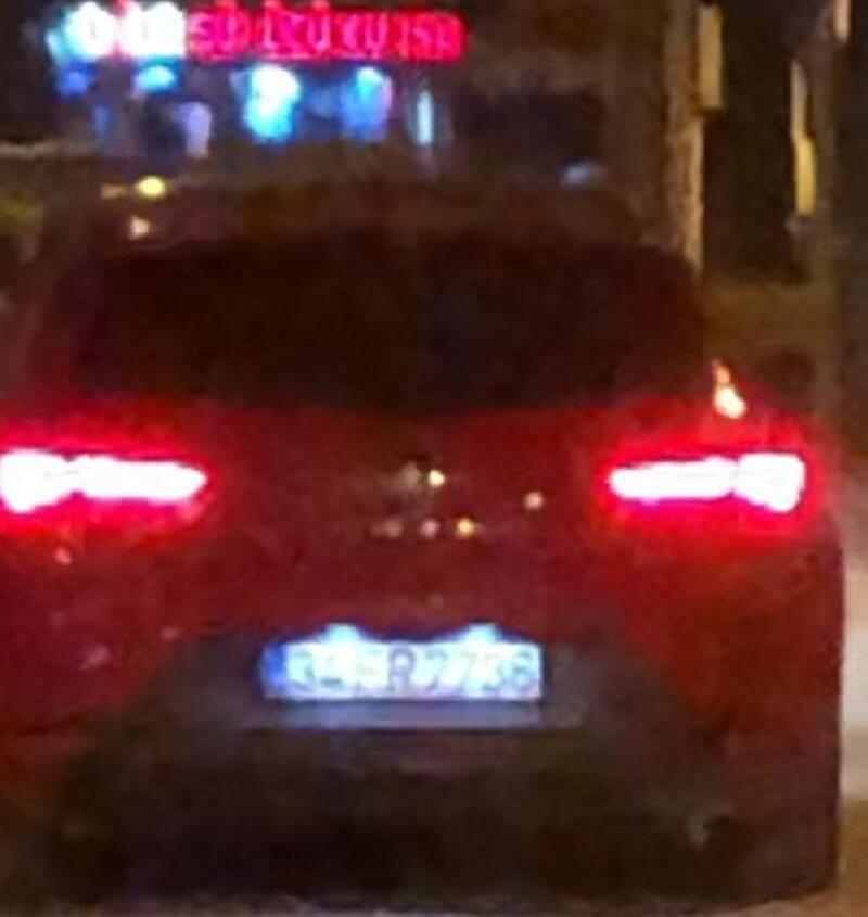 Drift yapan sürücüye 5 bin 480 lira ceza