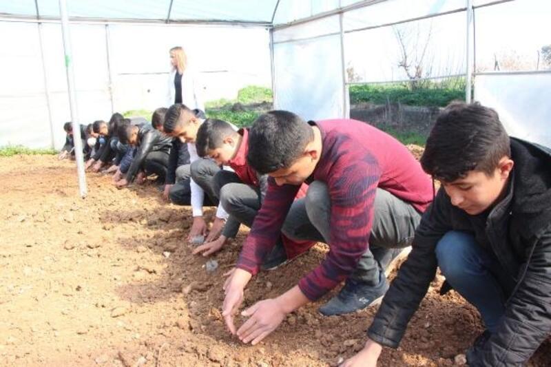 Geleceğin çiftçileri Şanlıurfa'da yetişiyor