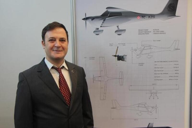 Samsun'da yerli uçak 'Kuzgun' projesi geliştirildi