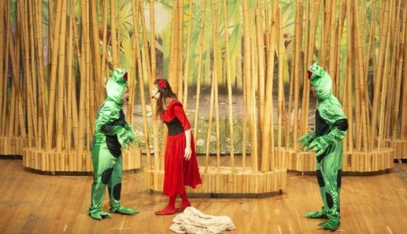 'Parmak çocuk' tiyatro oyunu ilgi gördü