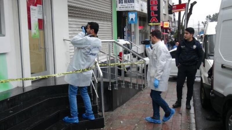 Esenler'de bankada soygun girişimi