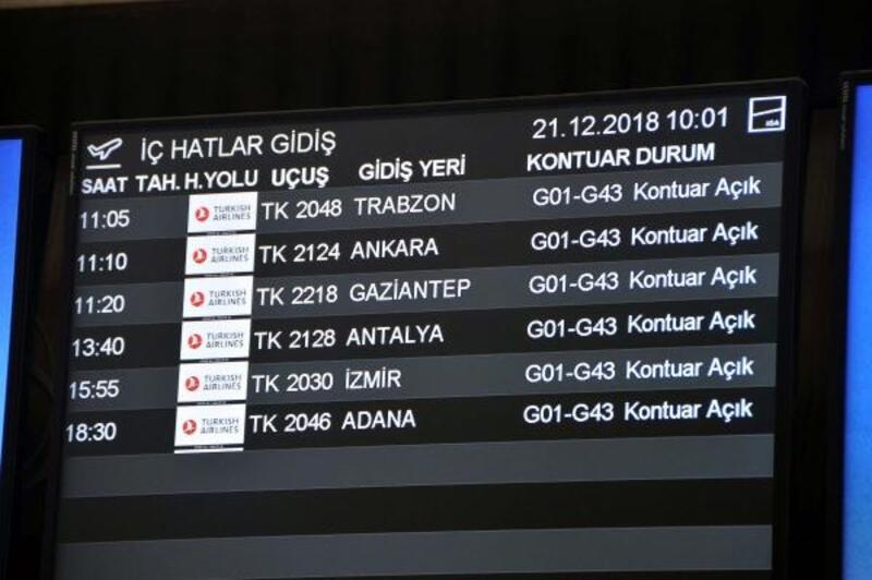 THY, İstanbul Havalimanı'ndan Gaziantep seferlerine başladı