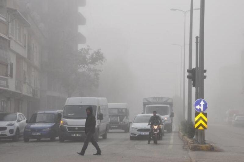 İslahiye'de 'yoğun sis' hayatı olumsuz etkiledi