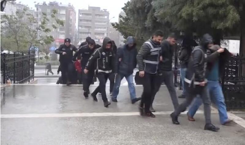 Mardin merkezli FETÖ operasyonunda 18 tutuklama