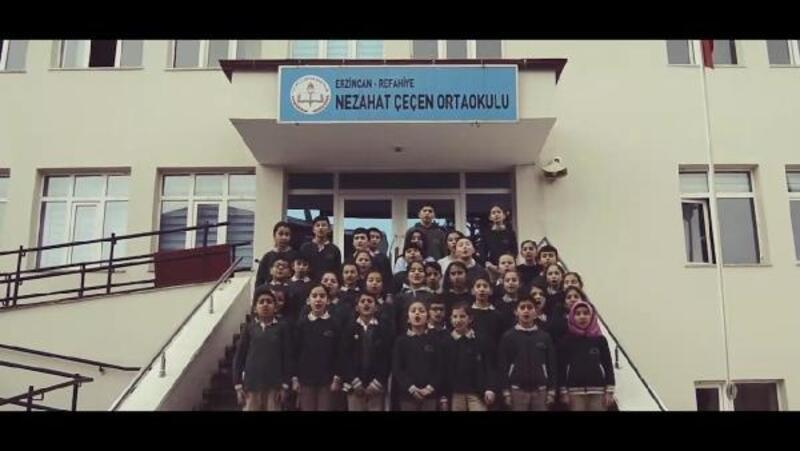Çocuklardan TBMM Başkanı Yıldırım'a özel doğum günü klibi