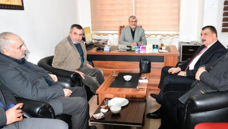 Başkan Gürkan'dan, Yetimler Kervanı'na ziyaret