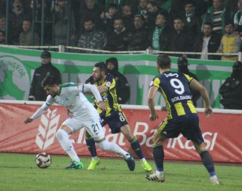 Giresunspor-Fenerbahçe