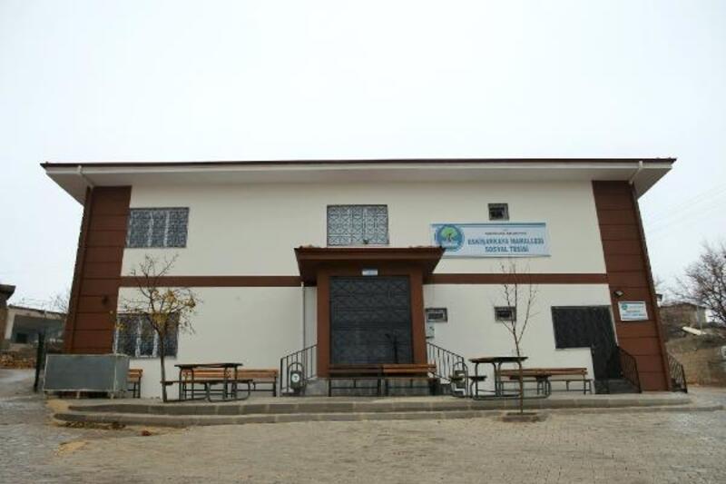 Şehitkamil'den, Eskişarkaya Mahellesi'ne sosyal tesis