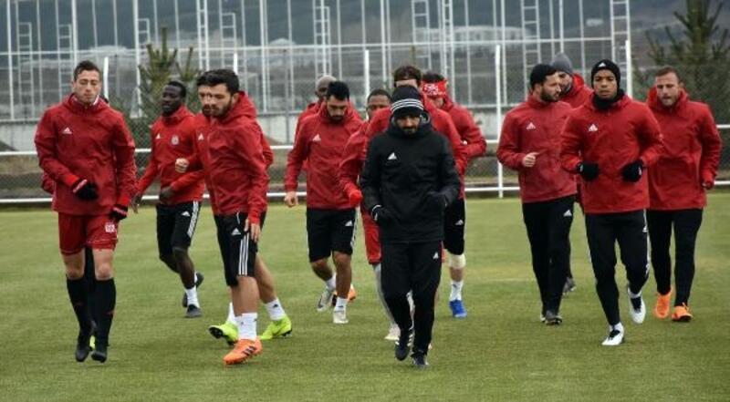 Sivasspor'da, Galatasaray hazırlıkları devam ediyor