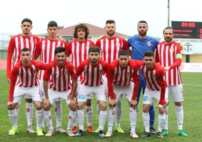 Darıca Gençlerbirliği - Antalyaspor: 0-1 (Türkiye Kupası)