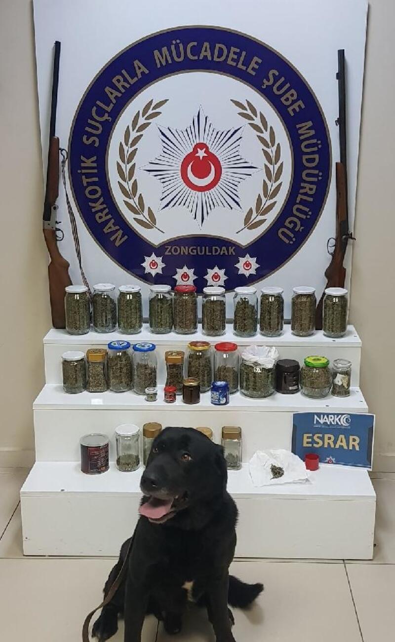 Zonguldak'ta uyuşturucu operasyonu: 4 gözaltı