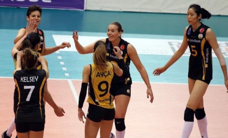 Maritza Plovdiv - VakıfBank: 0-3