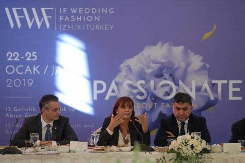 13. IF Wedding Fashion İzmir'e ilgi büyük