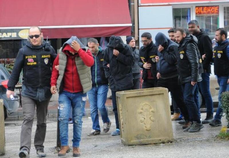 Depo soyguncuları yakalandı