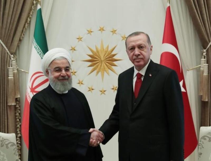İran İslam Cumhuriyeti Cumhurbaşkanı Hasan Ruhani Beştepe'de (3)