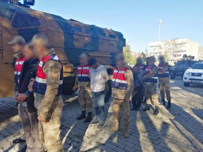 Hani'de 1 polisin şehit olduğu saldırıya 7 tutuklama