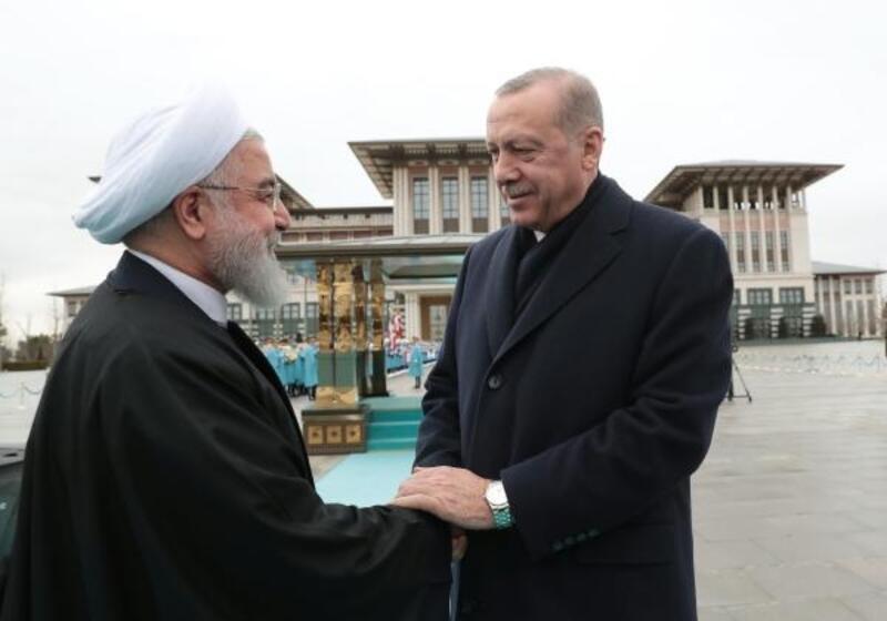 İran İslam Cumhuriyeti Cumhurbaşkanı Hasan Ruhani Beştepe'de