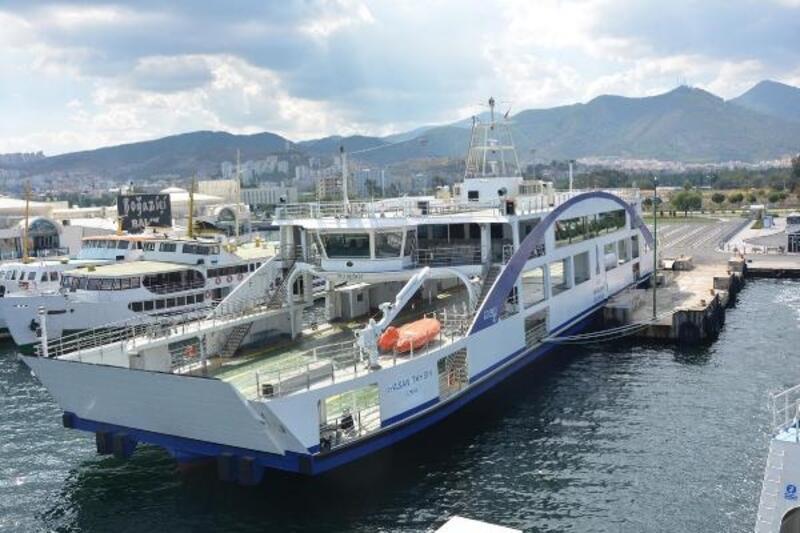 İzmir'e iki yeni feribot daha gelecek
