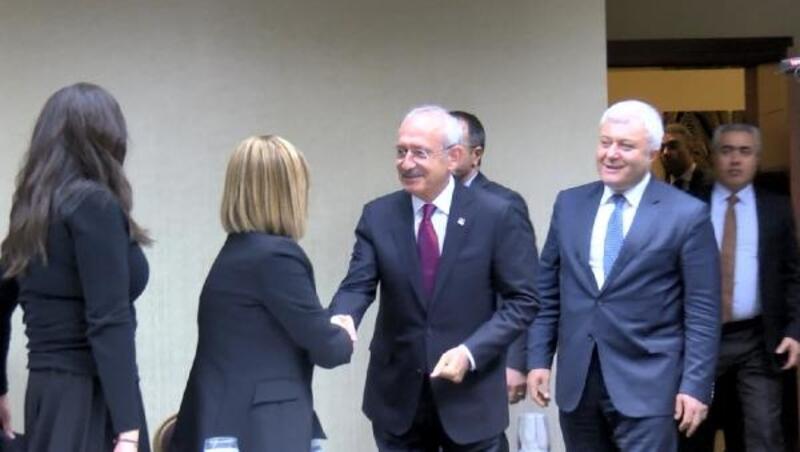 CHP lideri Kılıçdaroğlu, medya temsilcileriyle buluştu