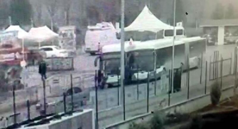 Ankara'da 2 avukat ile gaziye çarpan otobüs sürücüsü tutuklandı