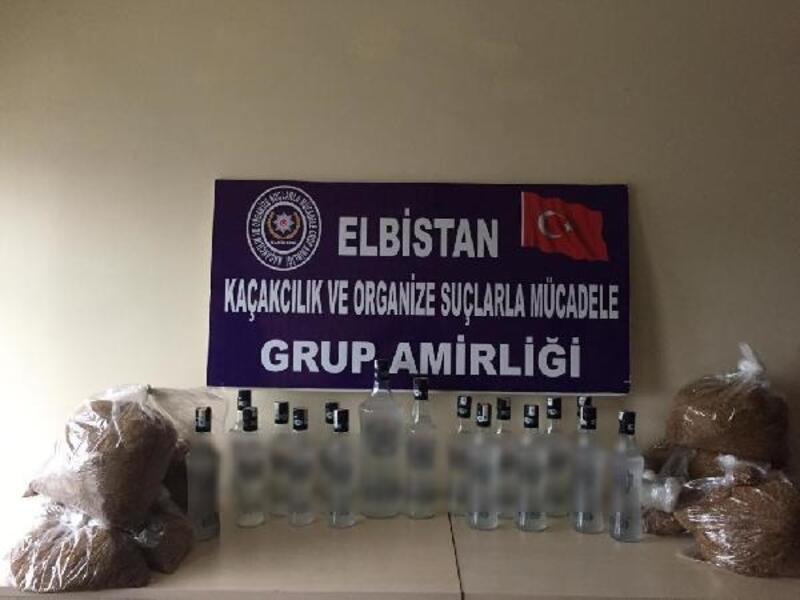Kahramanmaraş'ta sahte ve kaçak içkiye 8 gözaltı