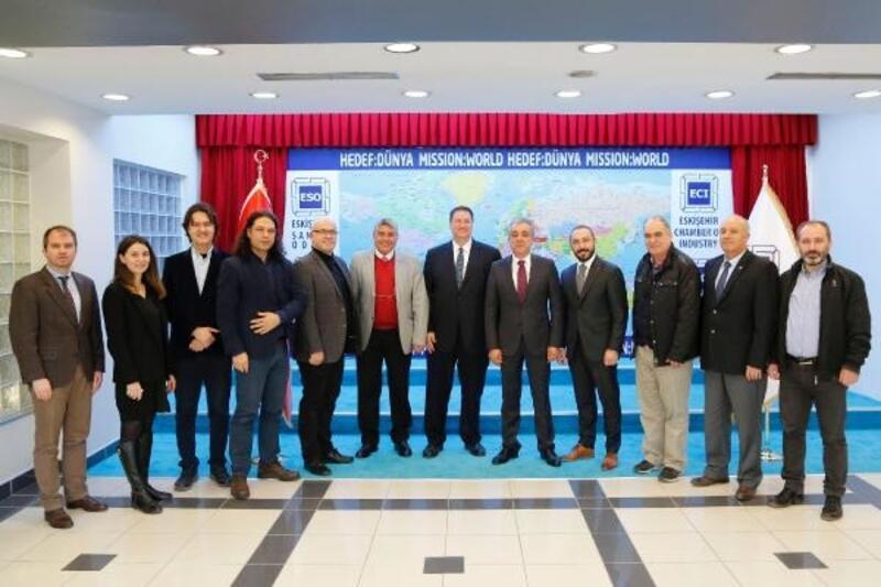 Eskişehir havacılık sanayi ABD'ye açılıyor