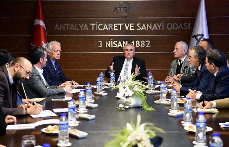 Sanayici ve iş insanları STK'ları ATSO'da buluştu