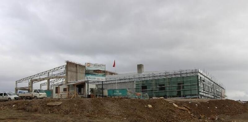 Seydişehir'de termal sosyal tesisin yapımı hızla sürüyor