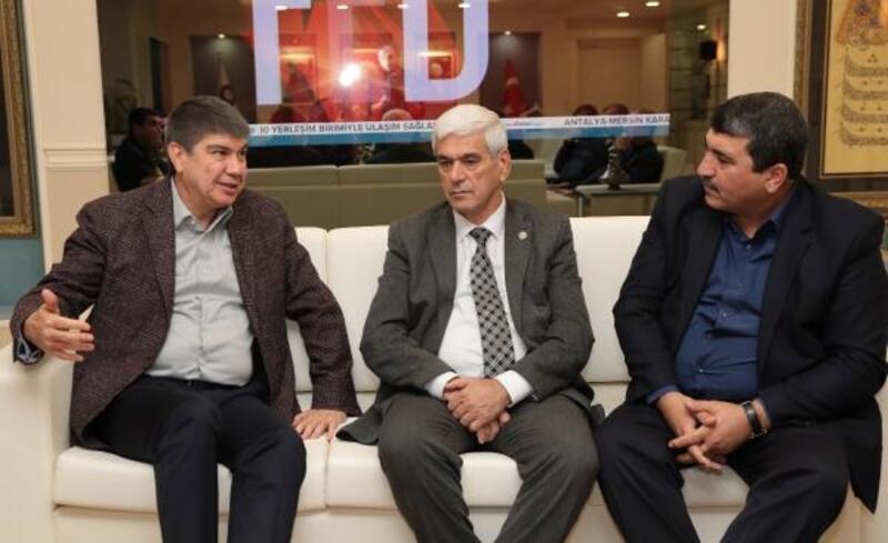 Başkan Türel, komisyoncu ve üreticileri kabul etti