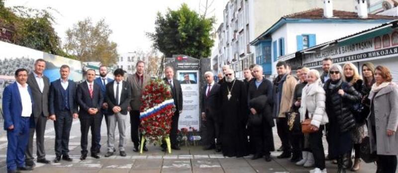 Andrey Karlov, ölüm yıl dönümünde Demre'de anıldı