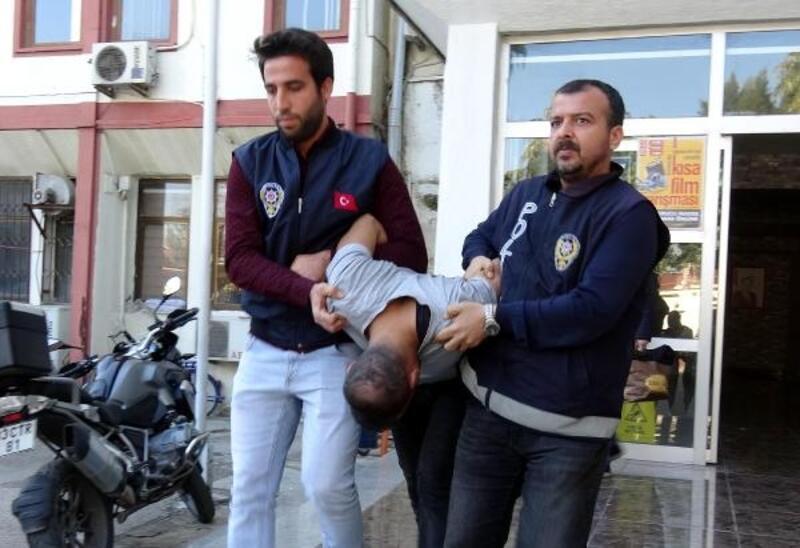 Motosikletli polise çarpan zanlı yakalandı