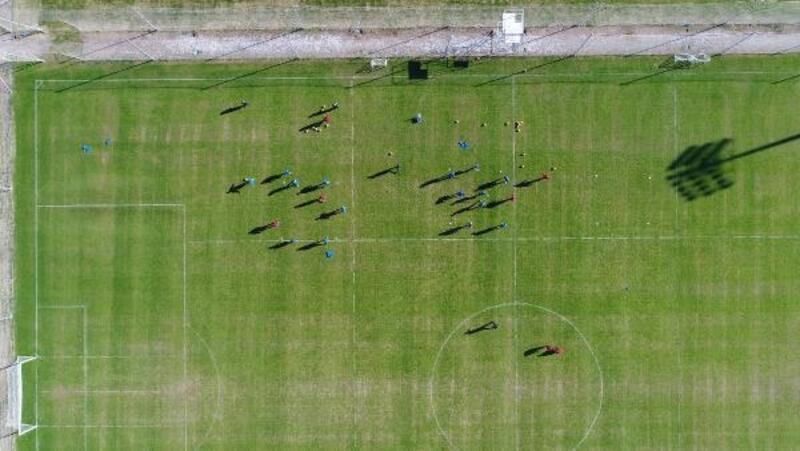 Antalyaspor, Fenerbahçe maçının hazırlıklarına başladı (EK FOTOĞRAFLAR)