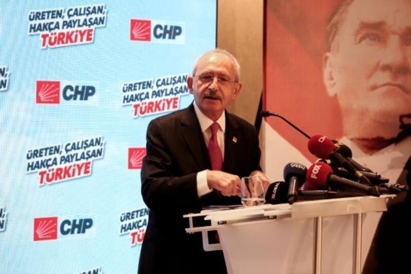 """Kılıçdaroğlu, """"Üreten, Çalışan, Hakça Paylaşan Türkiye"""" toplantısında konuştu"""