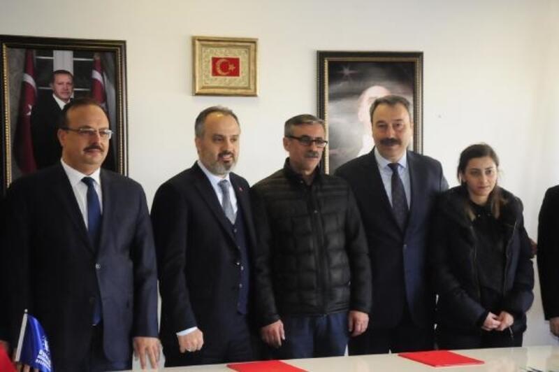 Bursa Büyükşehir Belediyesi, 18 dönümlük arazisini Emniyet Müdürlüğü'ne tahsis etti