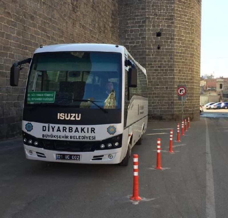 Diyarbakır'da türbelere ücretsiz servis