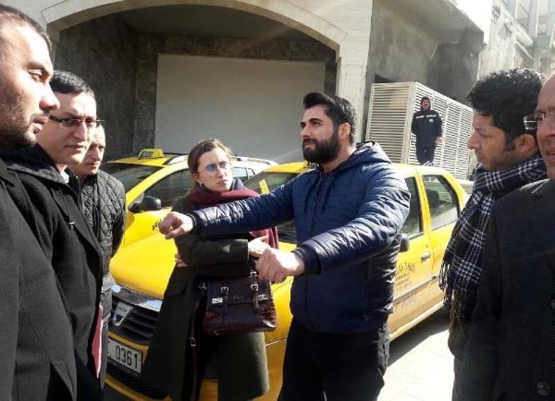 Kazada arkadaşı şehit olan Yunus polisi: Taksi birden önüme çıktı