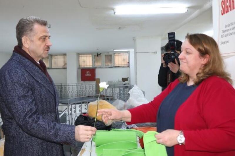 Hasan Tahsin Usta, esnaf ziyaretlerinde bulundu