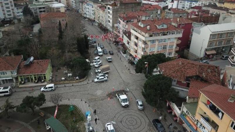 Tuzla'da koku paniğinin yaşandığı mahallenin havadan ek fotoğrafları