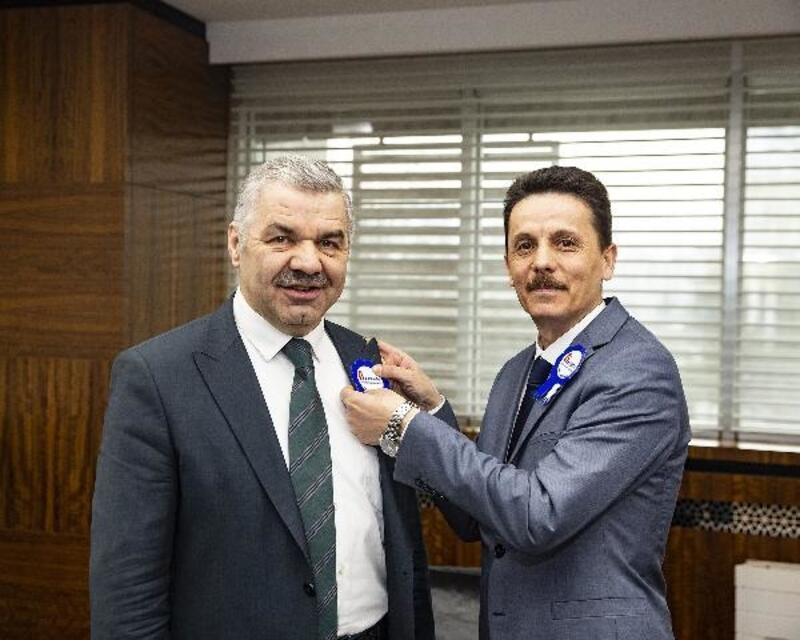 Başkan Çelik'e 'Vergi Haftası' ziyareti
