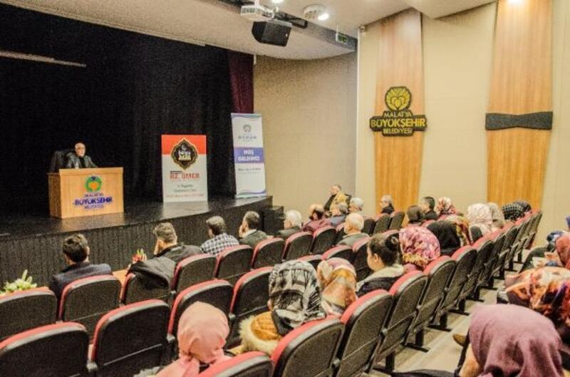 Malatya'da, 'İslam Tarihi' dersleri