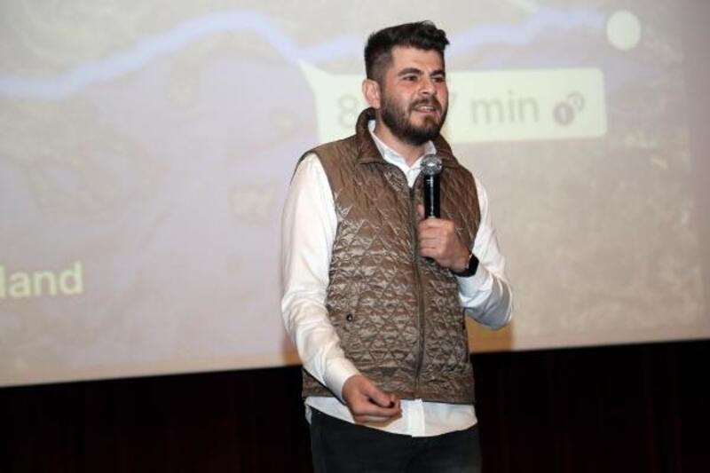 Yazar Tuğrul Selmanoğlu, Aksaraylılarla buluştu