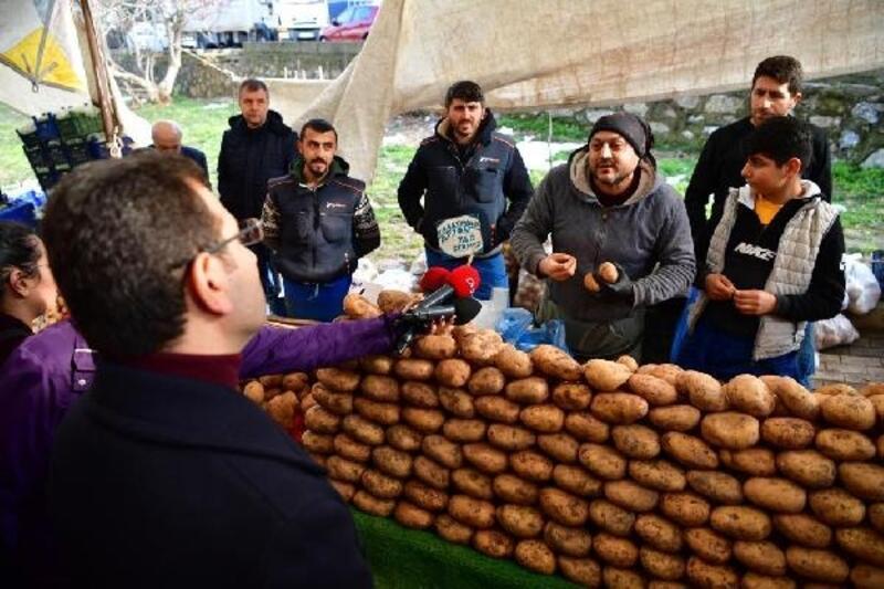 İmamoğlu seçim çalışmalarına Üsküdar'da devam etti