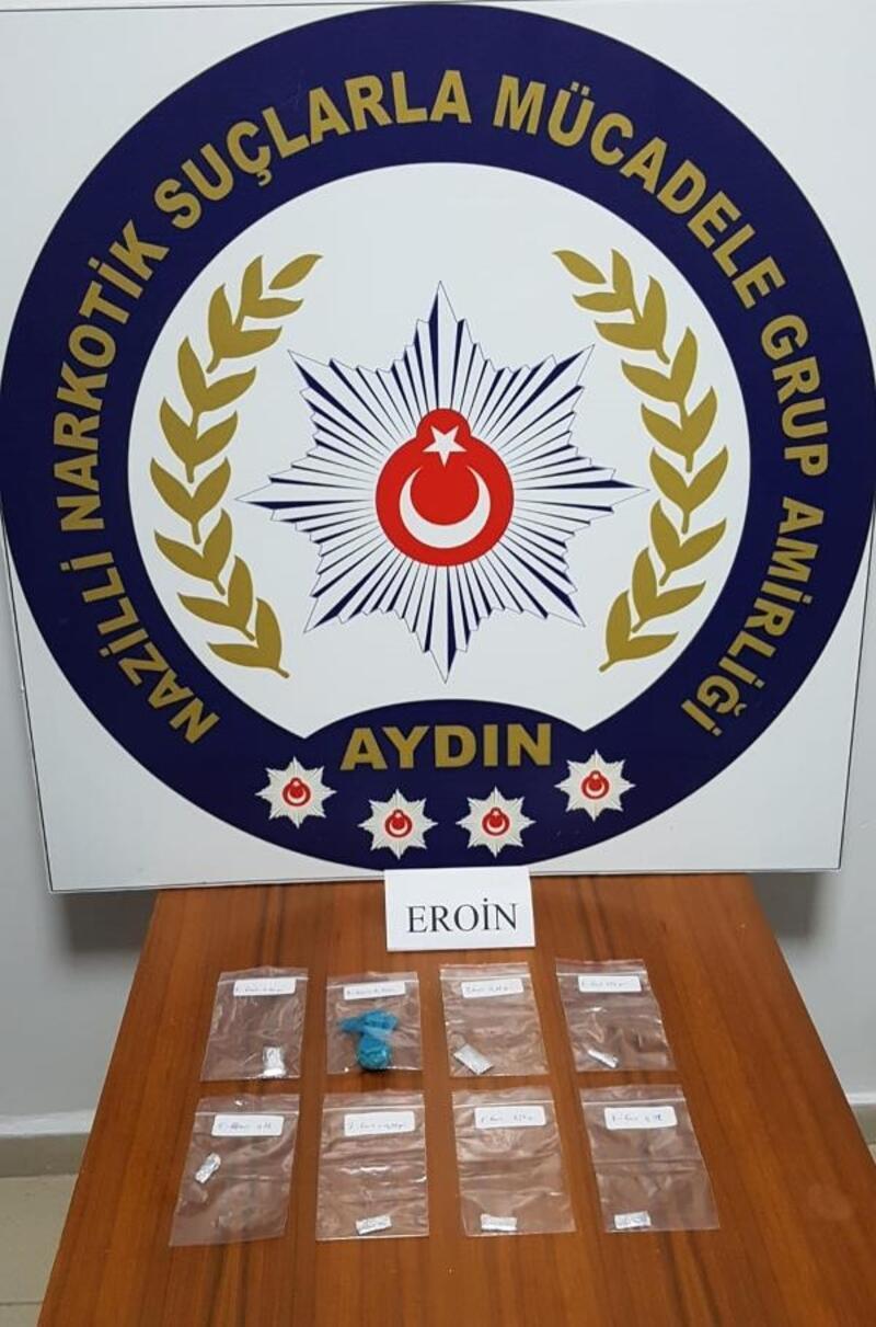 Nazilli'de uyuşturucudan 8 kişi tutuklandı