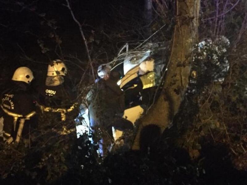 Ordu'da kaza: 1 ölü, 2 yaralı