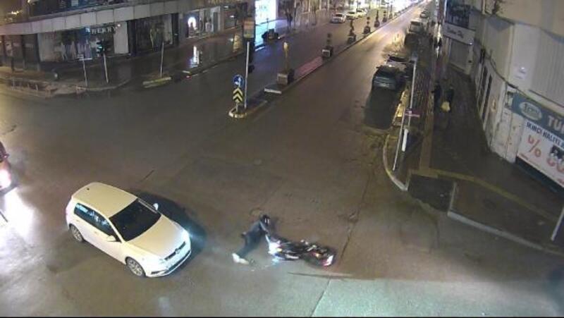 Van'daki trafik kazaları mobese kameralarında