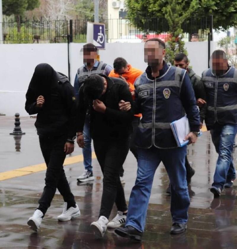 Manavgat'ta yağma şüphelisi tutuklandı