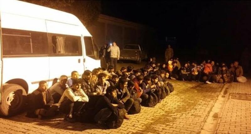 Van'da 50 kaçak göçmen yakalandı