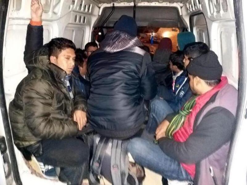 Tekirdağ'da 47 kaçak yakalandı, 4 organizatör tutuklandı
